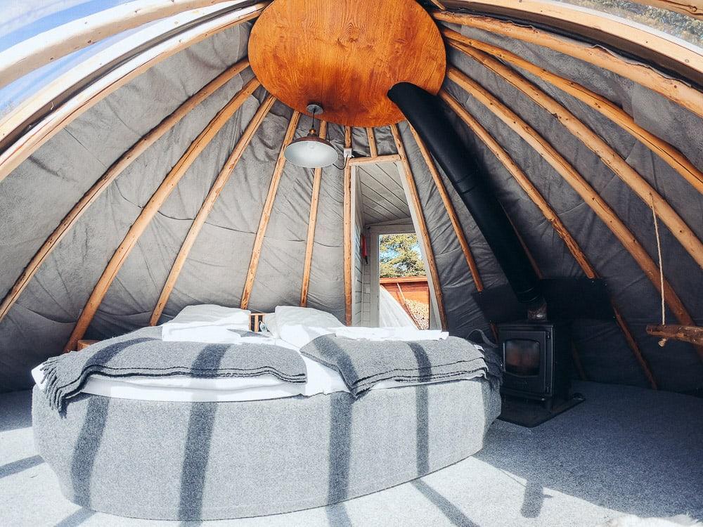 Holmen Husky Lodge lavvu accommodation