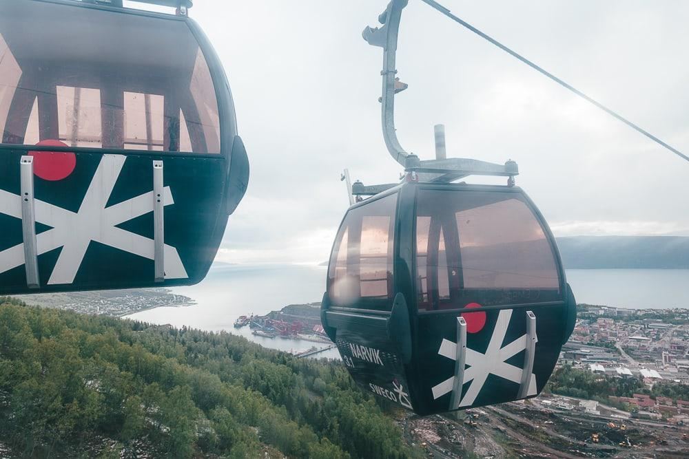 cable car gondolbanen narvikfjellet narvik norway