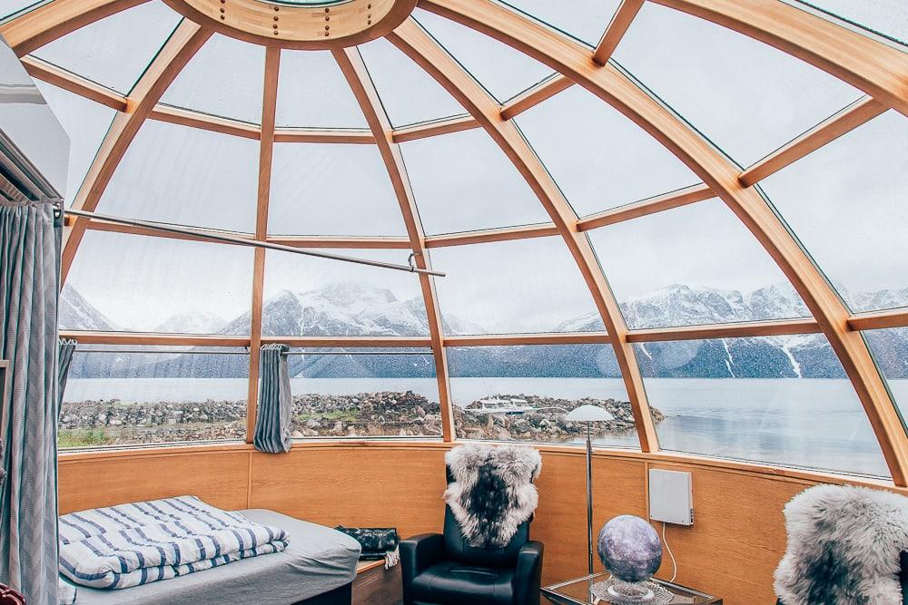 lyngen north glass igloos northern norway