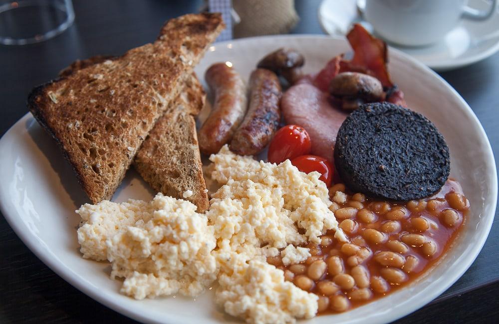 the knowes hotel and restaurant macduff aberdeenshire breakfast