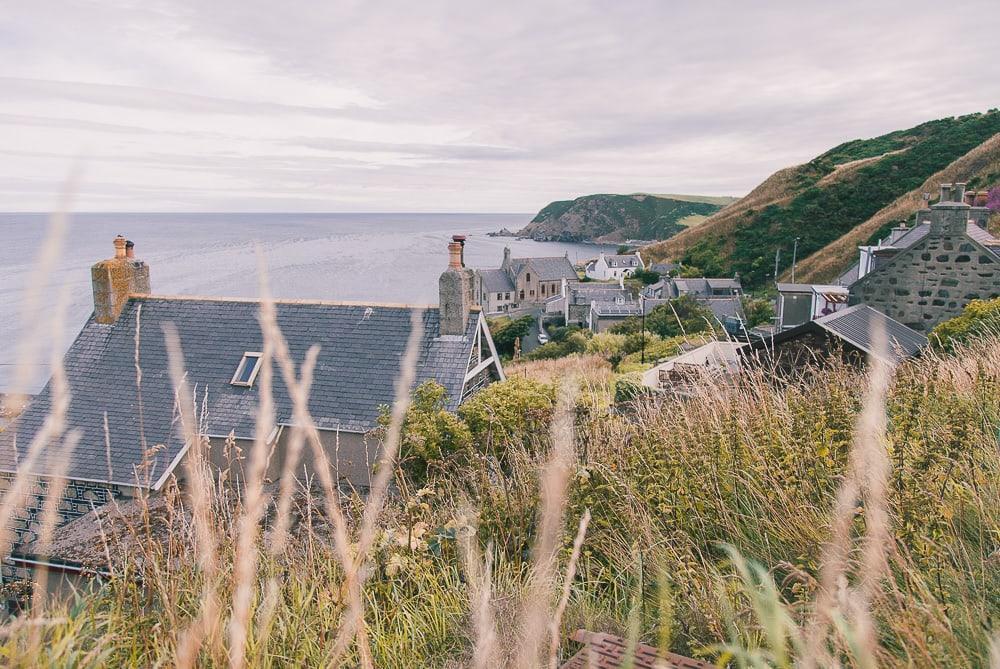 gardenstown aberdeenshire coastal route