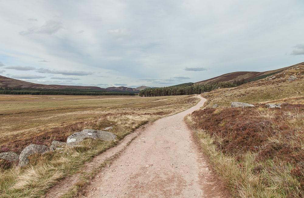loch muick cairngorms national park aberdeenshire