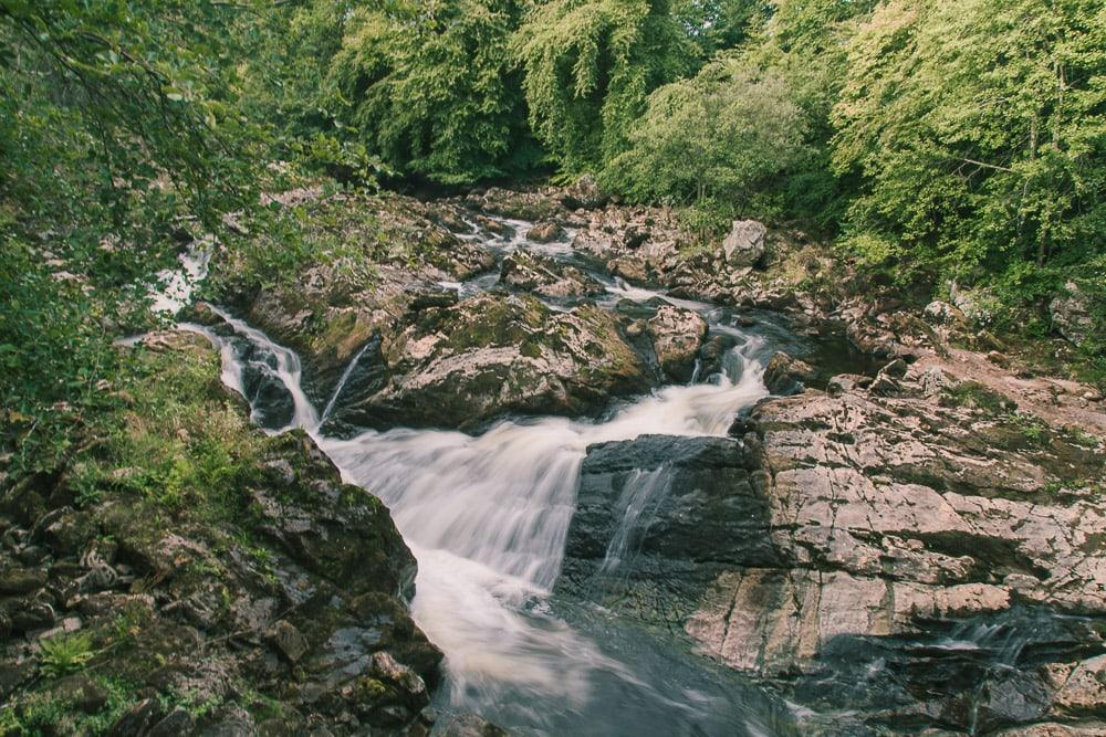falls of feugh banchory scotland