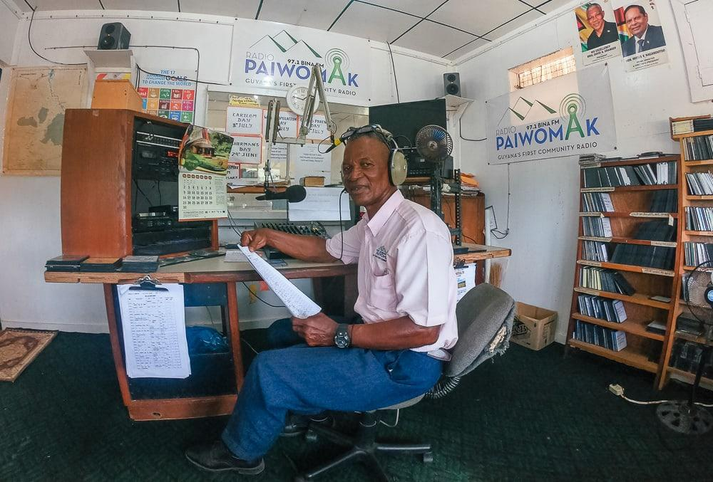 surama village radio station guyana