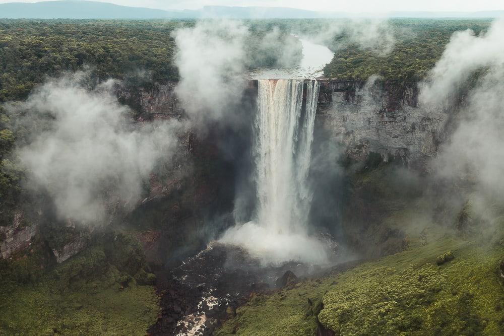 kaietur top tourist site guyana