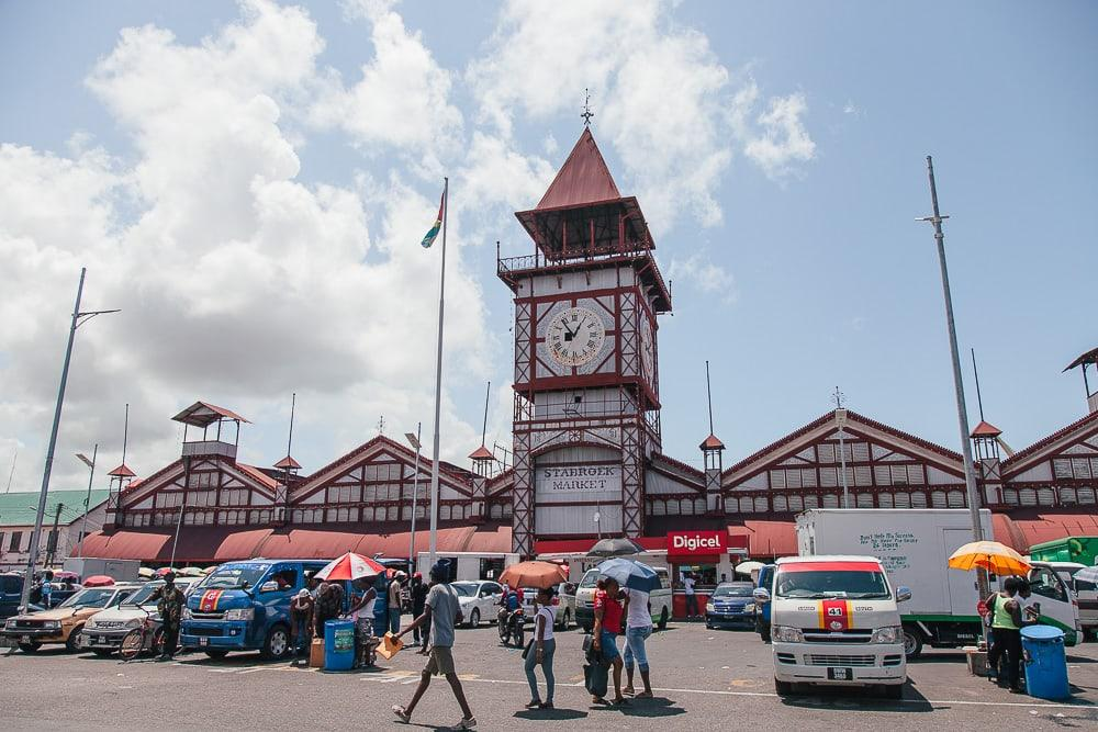 local market georgetown guyana