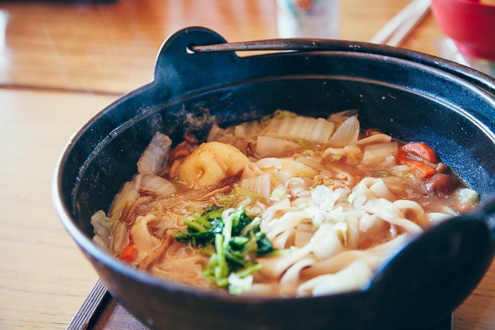 yamanashi hoto noodle soup japan