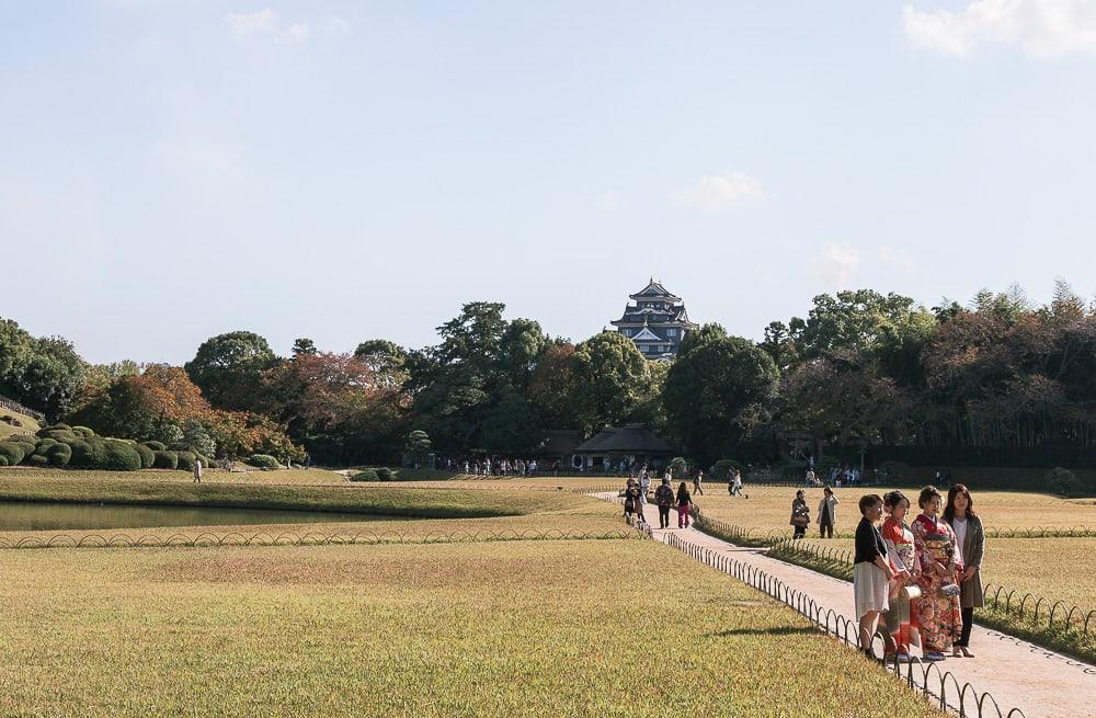 Korakuen Garden okayama city japan