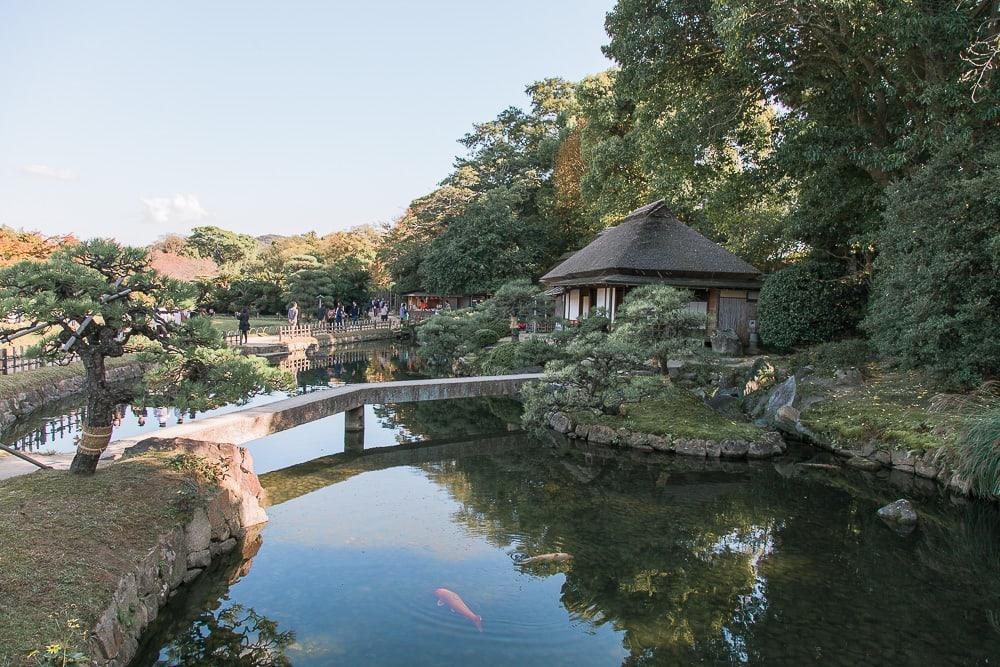 Korakuen Garden okayama city japanese edo period garden