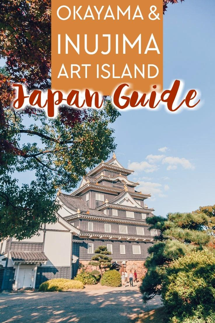Two day Japan itinerary for things to do in Okayama City and Inujima Art Island