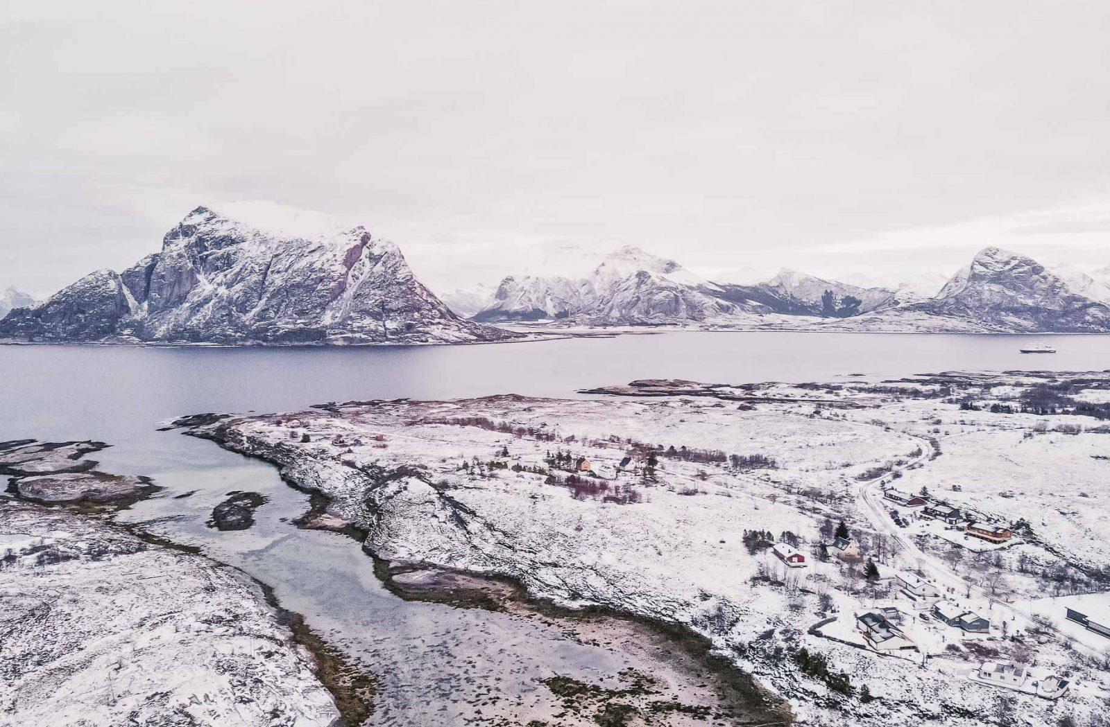 støtt helgeland coast norway winter