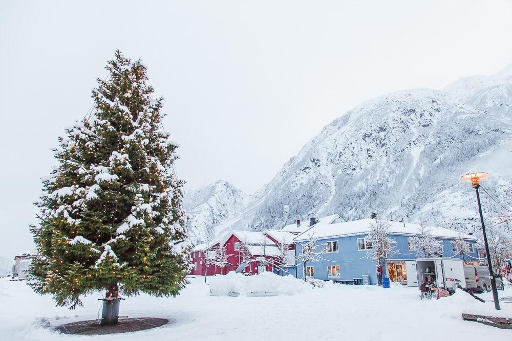 Christmas in Mosjøen Norway