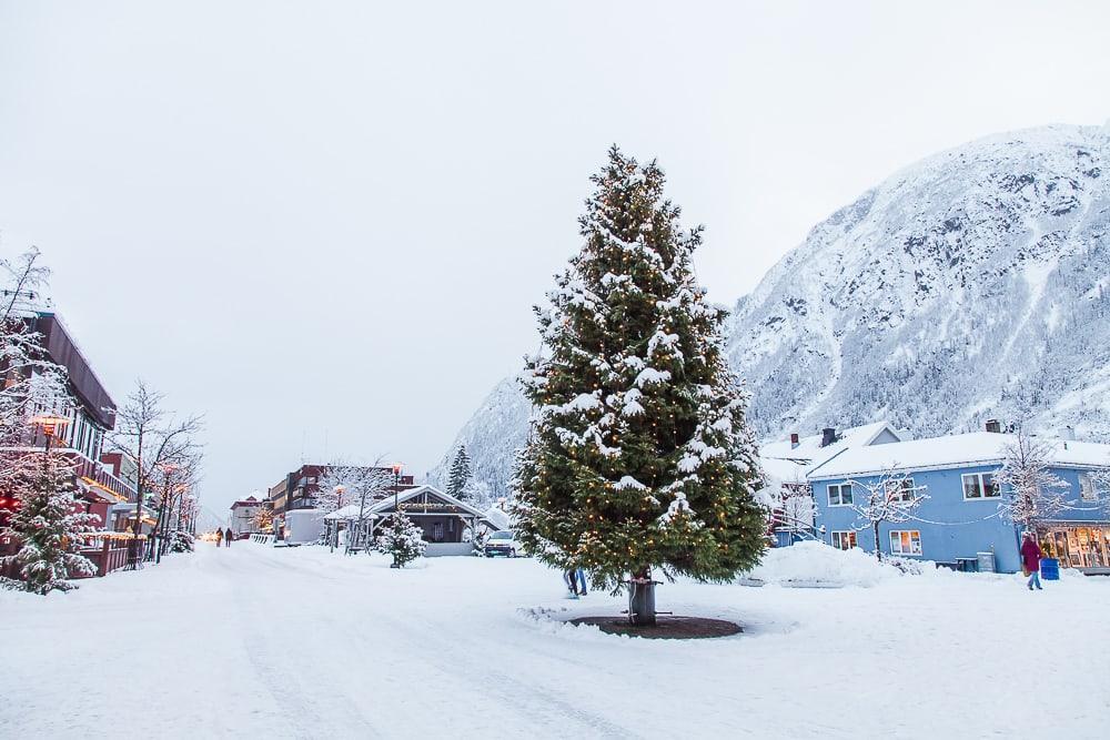Christmas in Mosjoen Norway