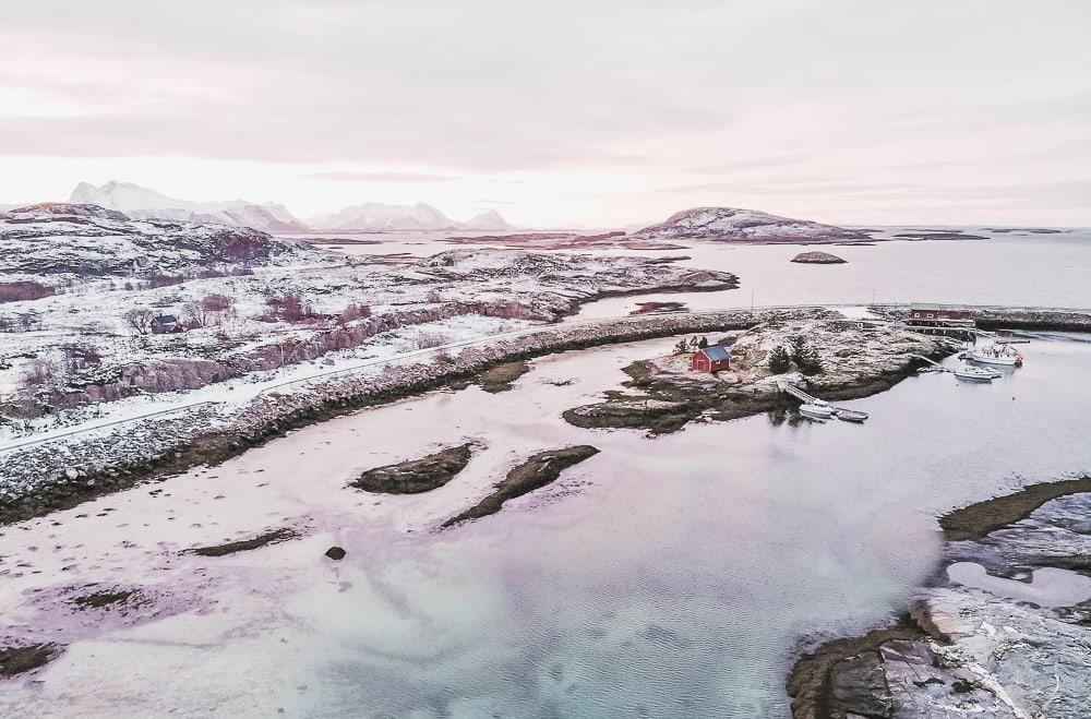 Støtt Helgeland Coast Norway in winter