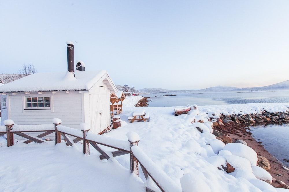 norwegian wild accommodation senja, norway