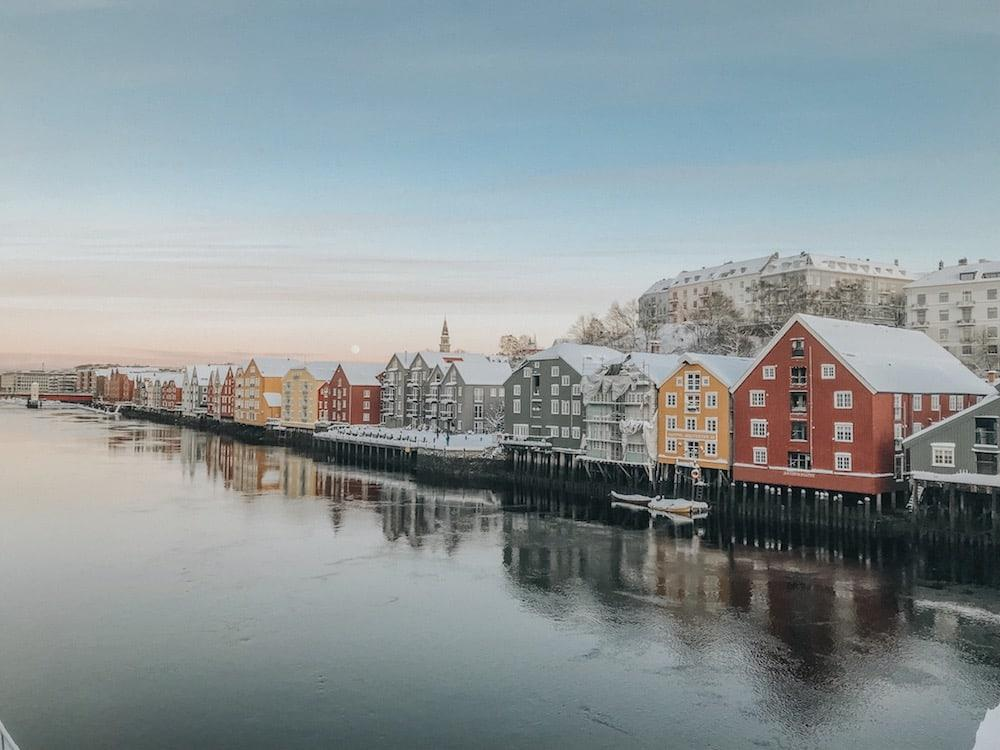trondheim norway winter