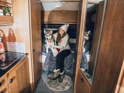 cheap airbnb kiruna sweden husky sledding