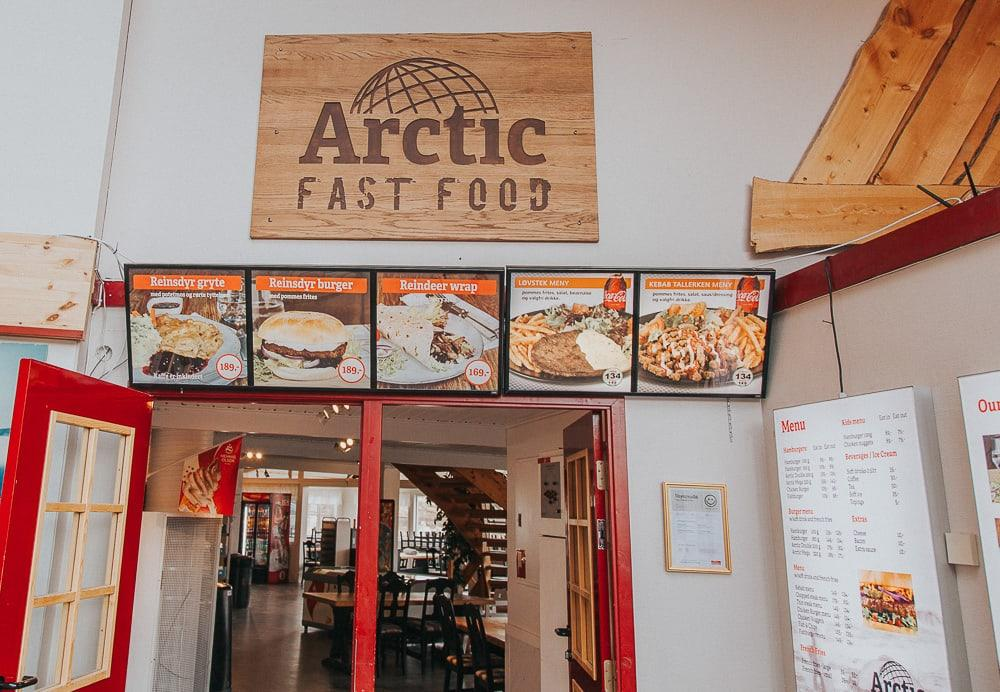 arctic fast food norway