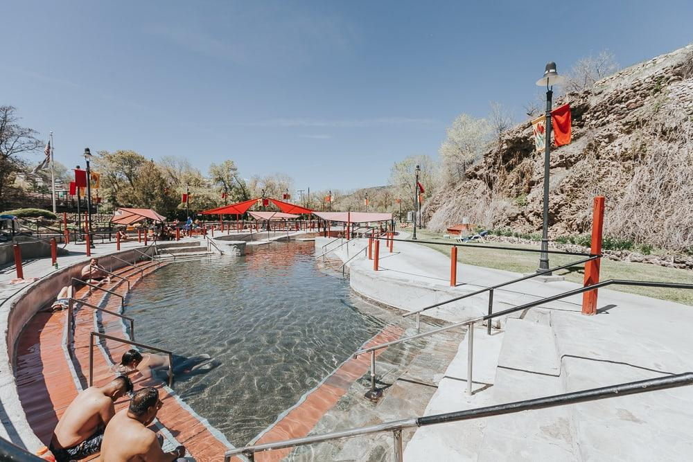 lava hot springs pools in idaho