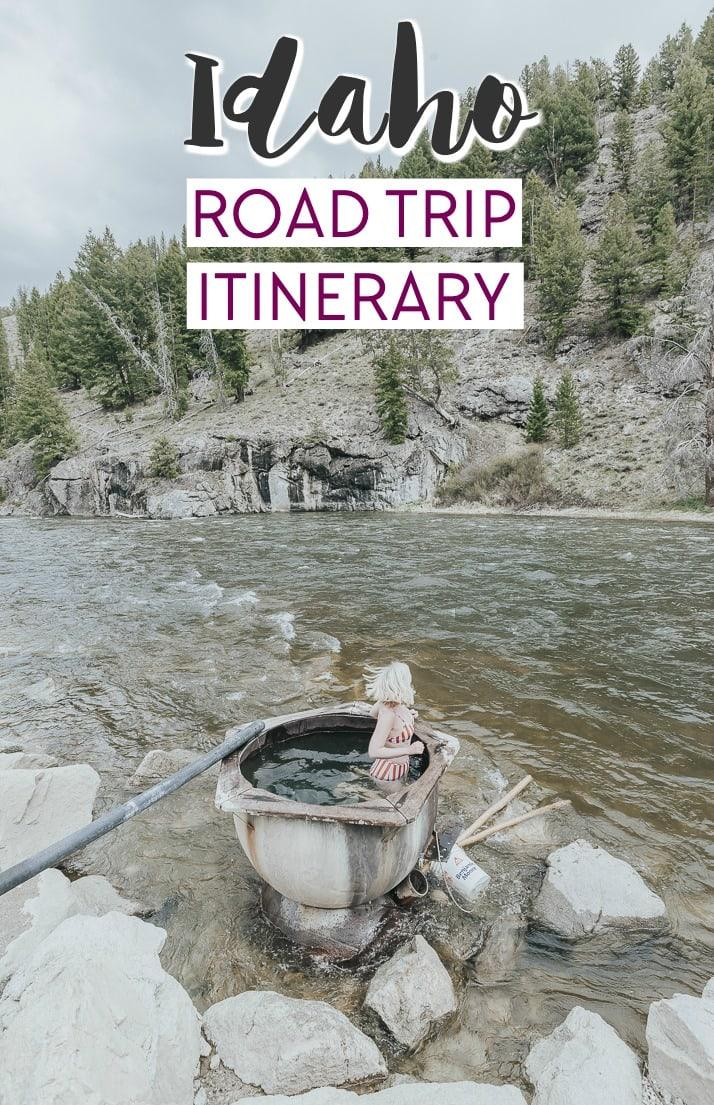 IDAHO road trip itinerary