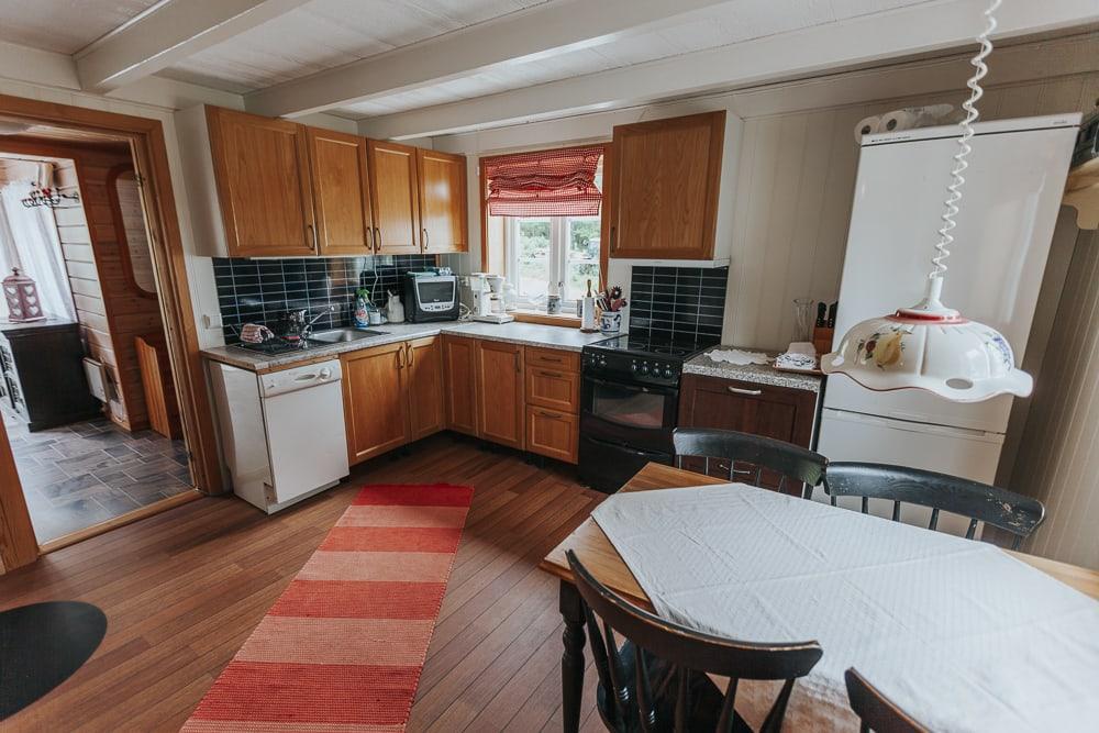 dønna airbnb accommodation helgeland coast