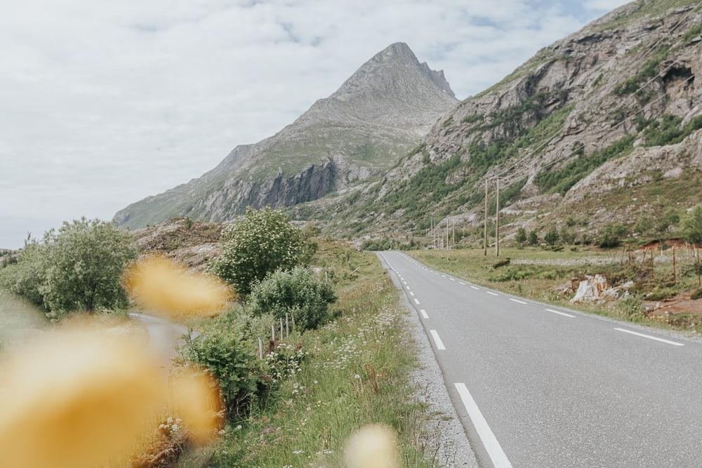 driving around dønna and herøy helgeland coast norway