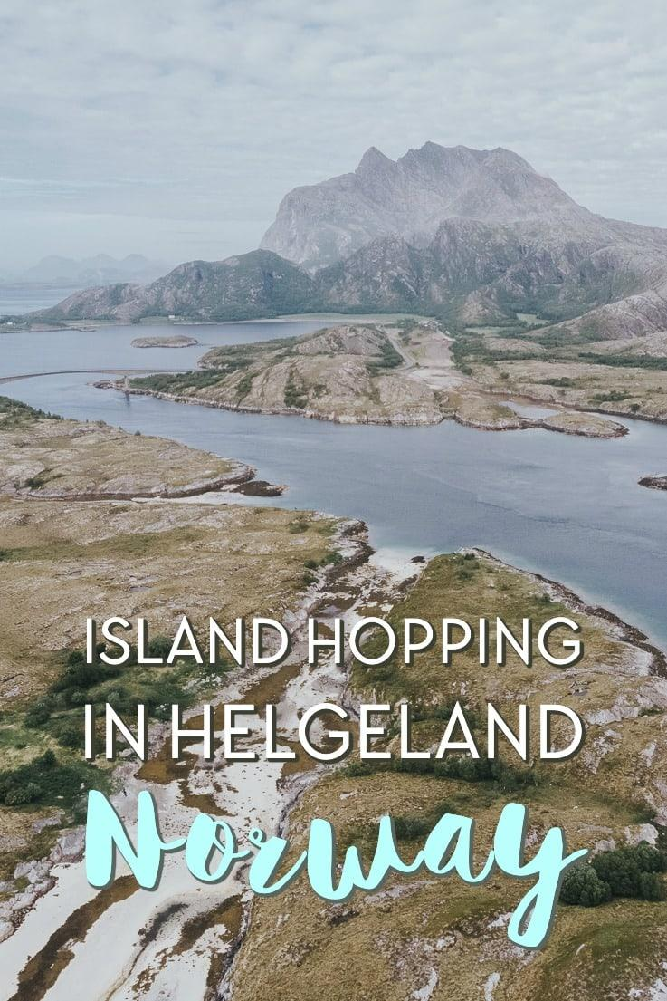 island hopping along the helgeland coast in Norway Dønna and Herøy