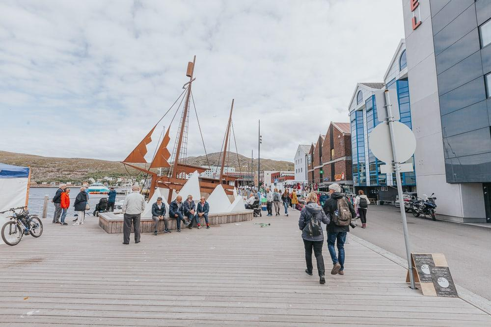 hammerfest norway in summer