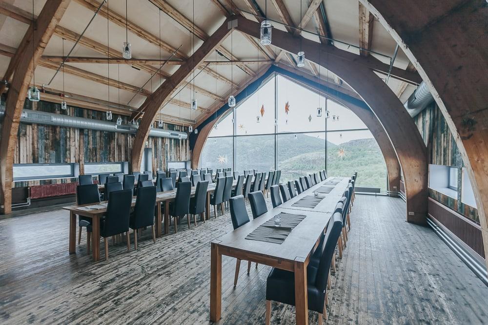 snowhotel kirkenes norway restaurant