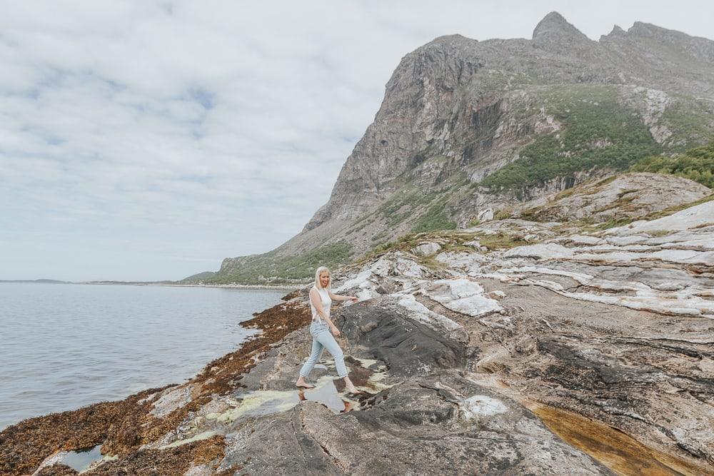 dønnamannen hike helgeland coast norway in june