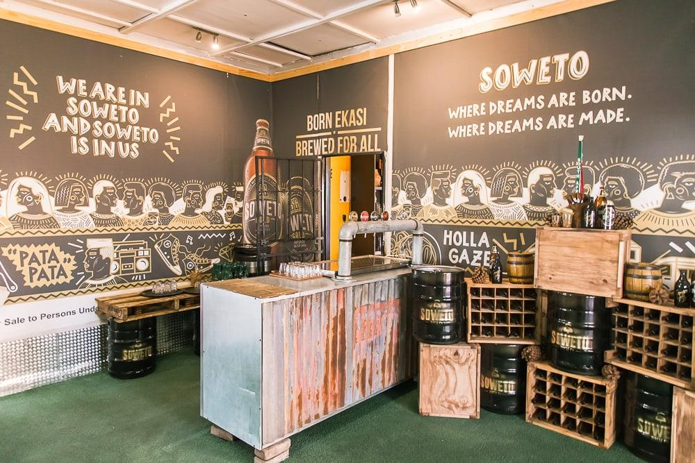 soweto gold beer johannesburg south africa