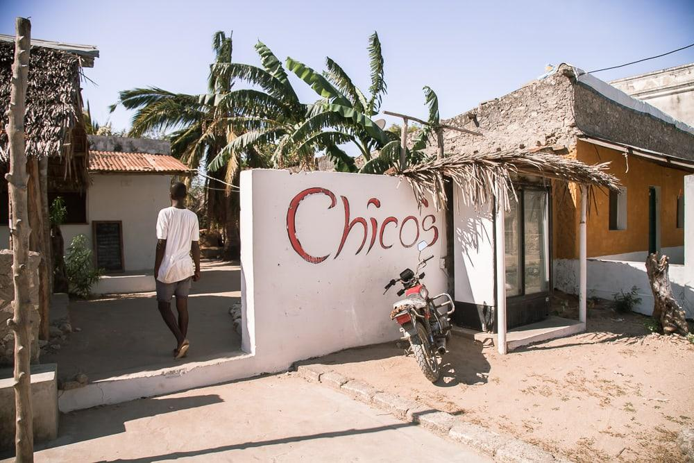 chico's restaurant ibo island quirimbas mozambique