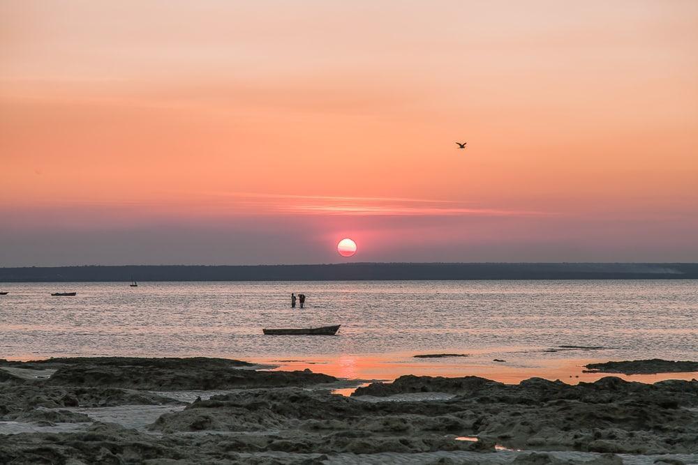 sunset matemo island quirimbas mozambique