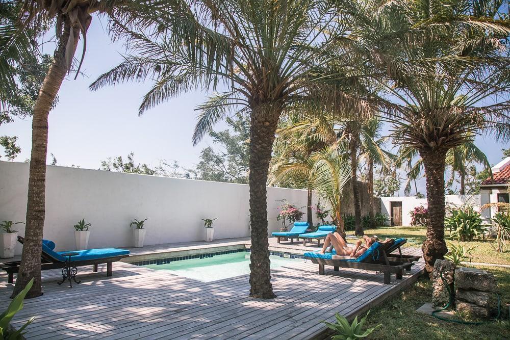 ibo island lodge pool quirimbas mozambique