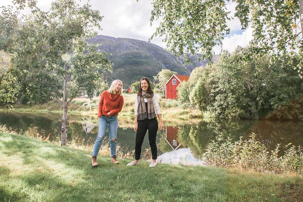 mosjoen norway in august