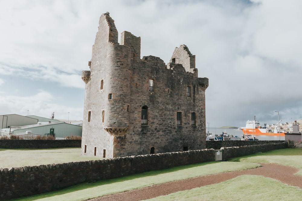 Scalloway Castle Shetland Scotland