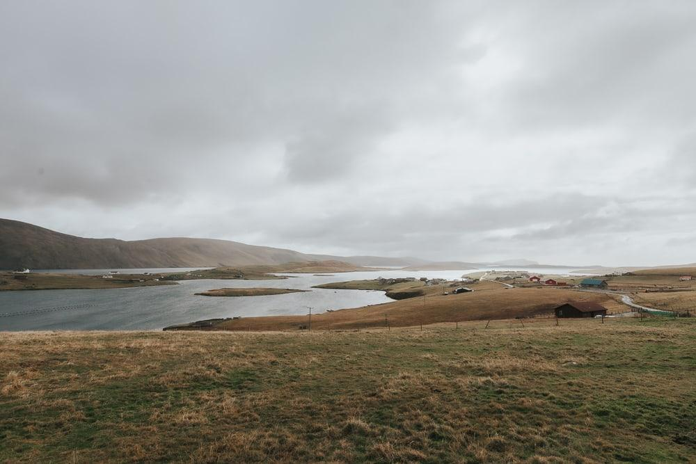 Burra peninsula Shetland in October