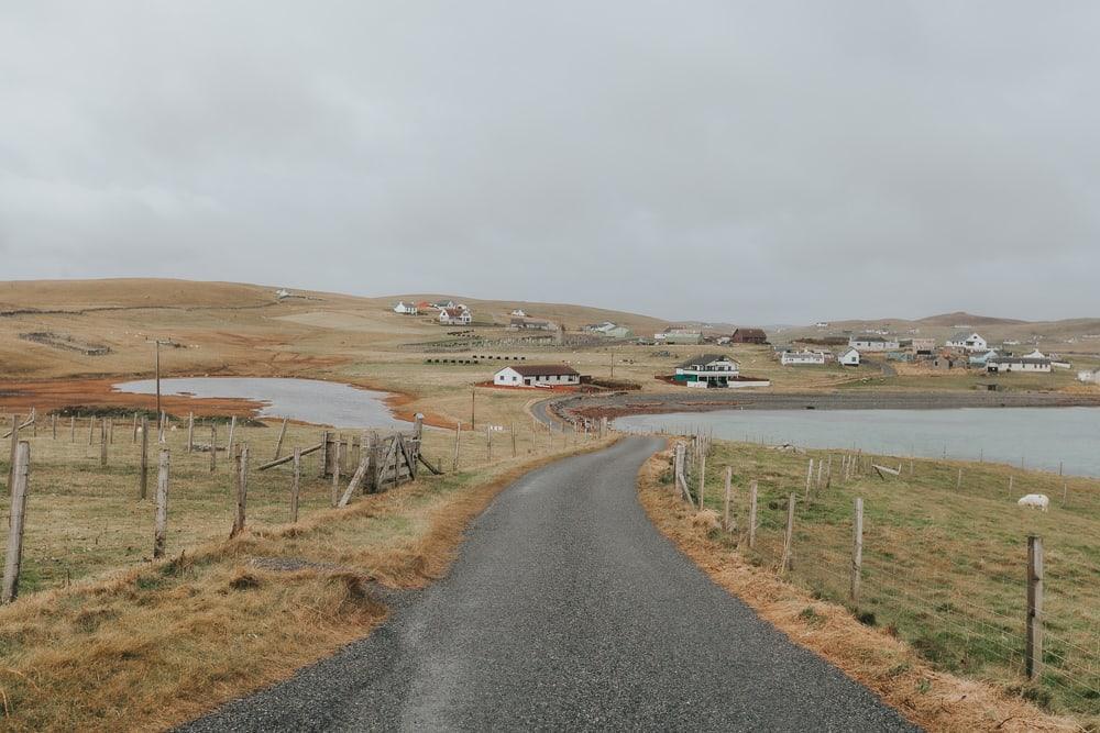 Burra peninsula shetland