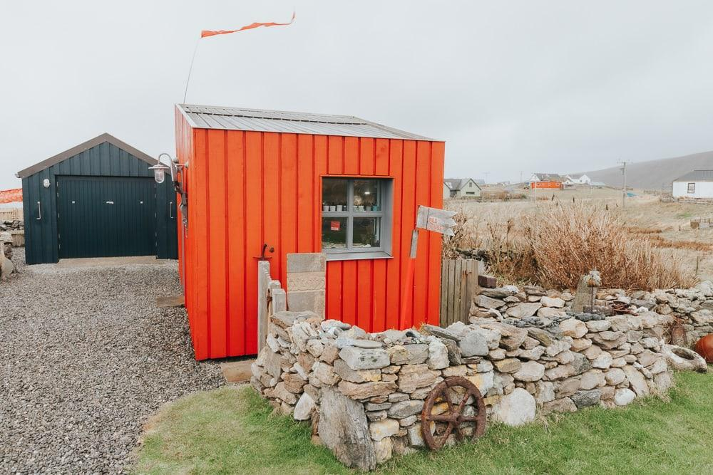 shetland craft trail red houss
