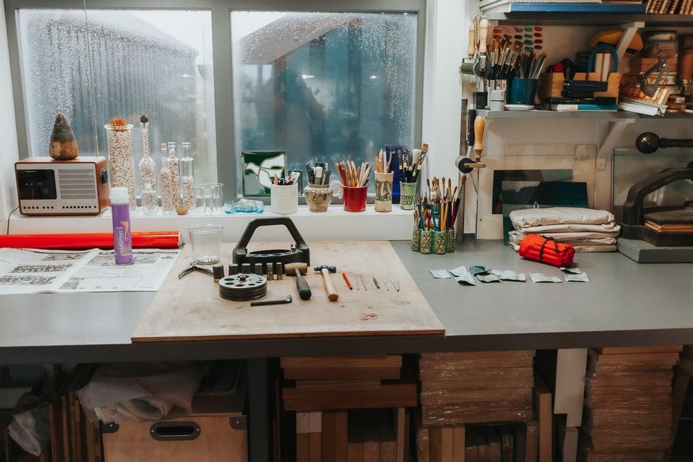 Red houss workshop craft trail shetland