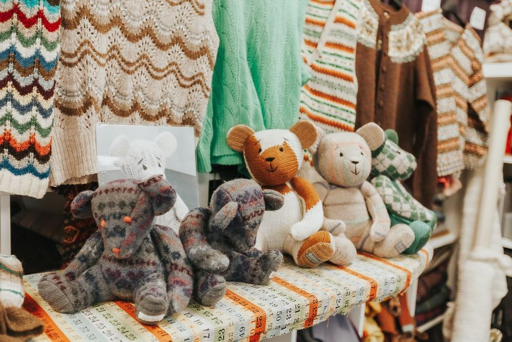Burra Bears craft trail shetland
