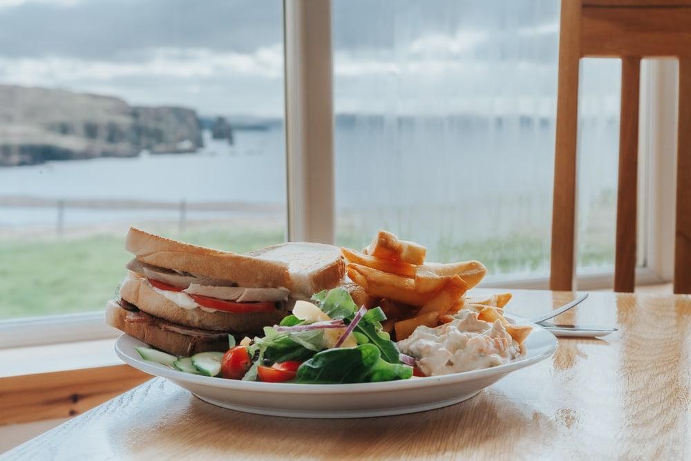 braewick cafe and caravan park st magnus bay view shetland