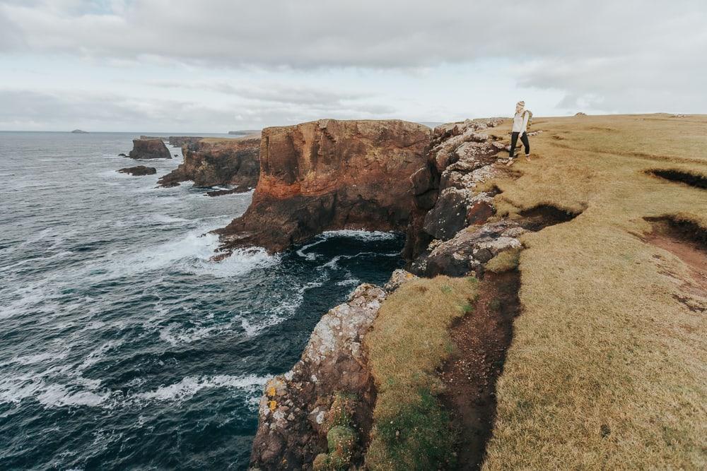 eshaness cliffs shetland