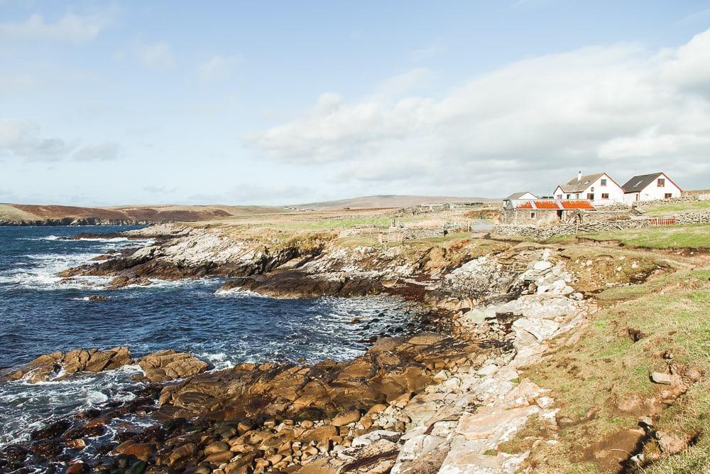no ness and the broch of burraland, sandwick shetland