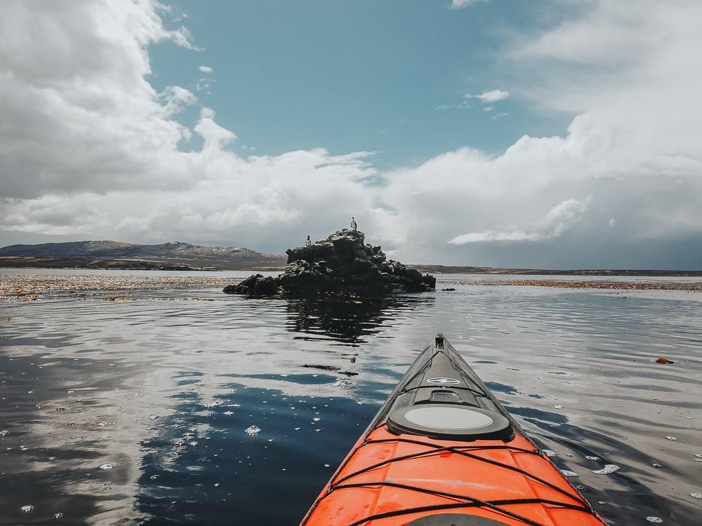 sea kayaking with falkland outdoors falklands