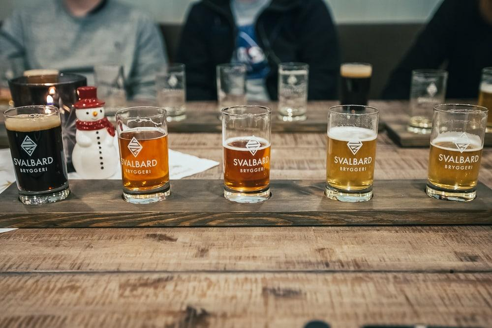 svalbard bryggeri beer tasting