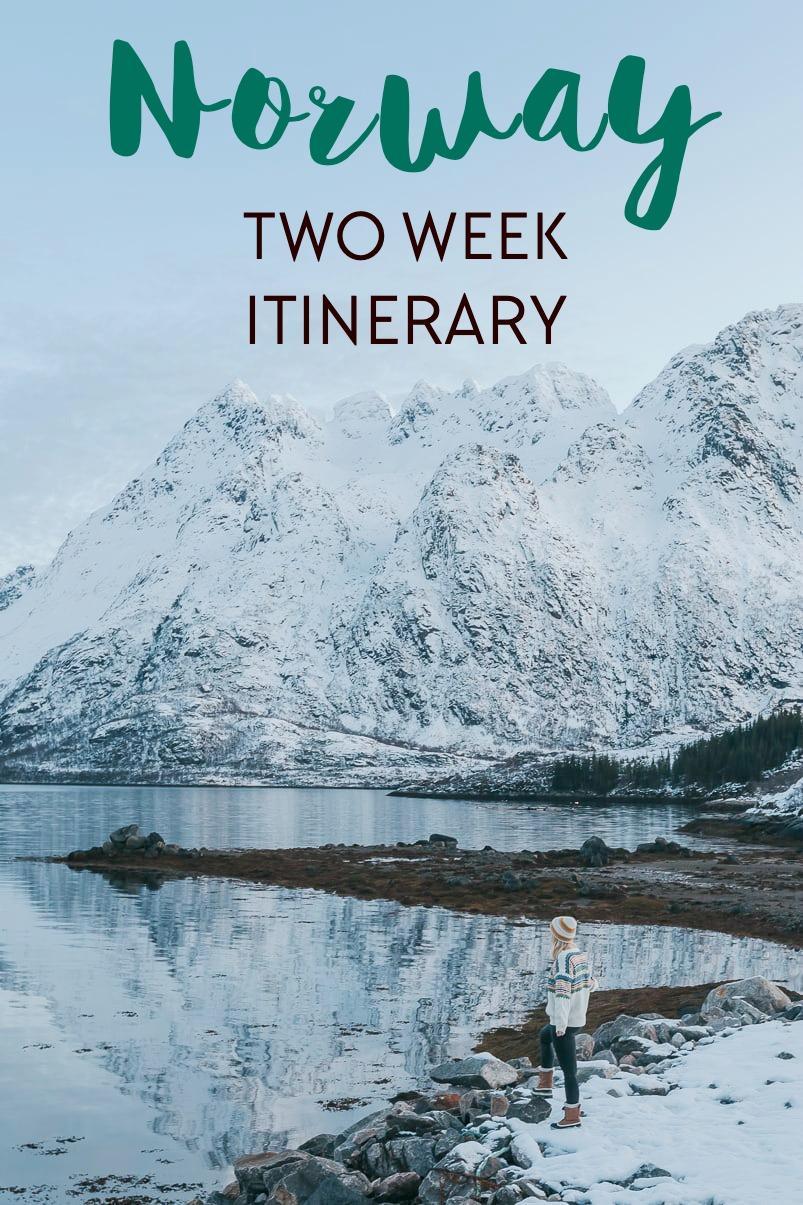 Two week Norway itinerary: Trondheim, Helgeland, Bodø, Lofoten