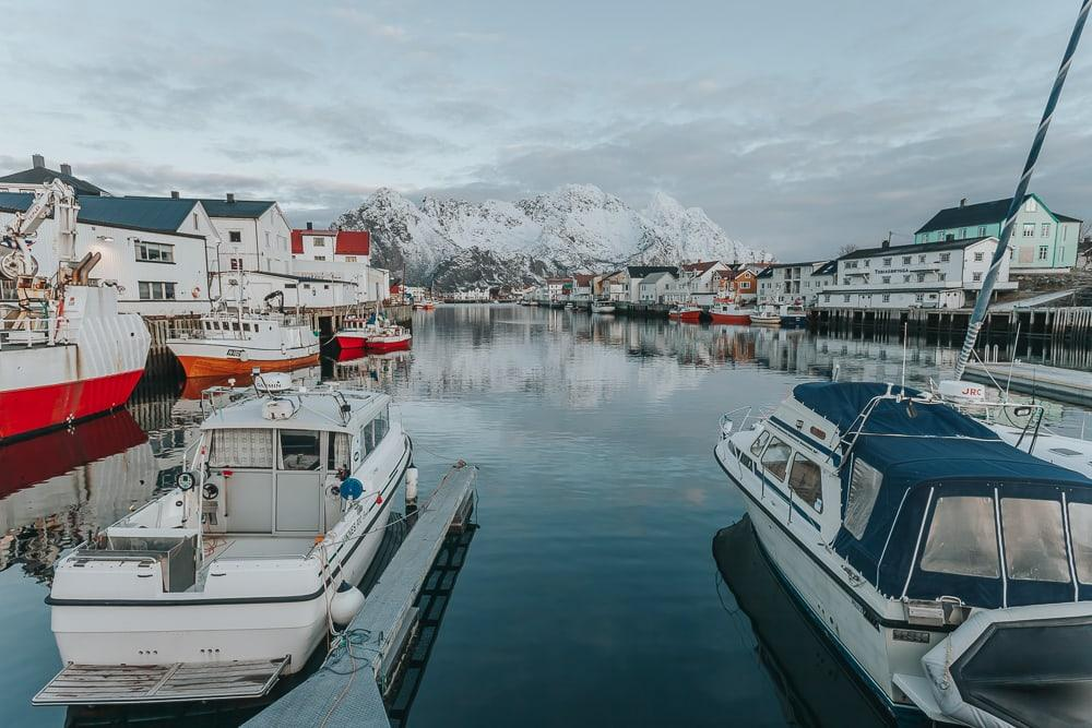 january in lofoten norway