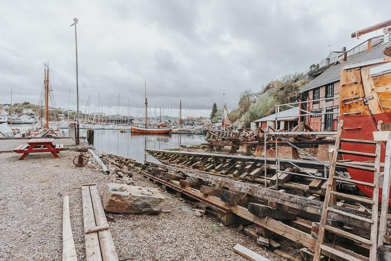 Mellemværftet shipyard kristiansund norway