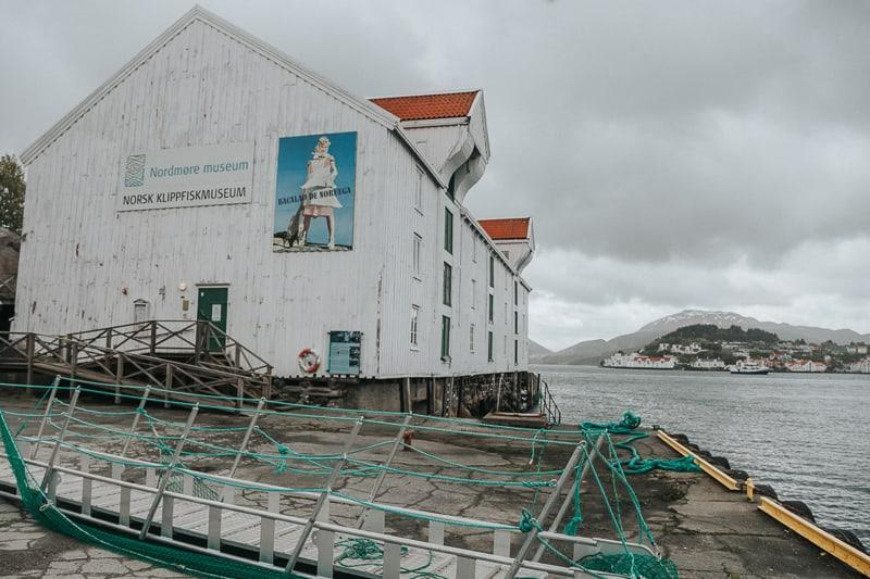 Norwegian Klippfisk (clipfish) Museum kristiansund norway